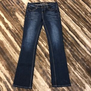 Rue 21 Low Rise Boot Jeans Size 7/8